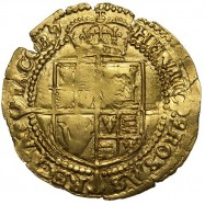 James I Gold Half Laurel