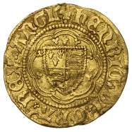 Henry VI Gold Quarter Noble