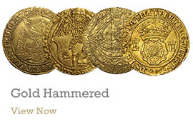 Gold Hammered