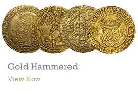 Gold Hammered